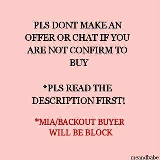 FOR SERIOUS BUYER ONLY