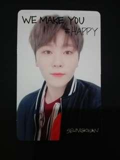 Seventeen We Make You Seungkwan Trading Card