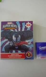 Puzzle/SpiderMan/Venom/24pcs/砌圖/併圖/24塊