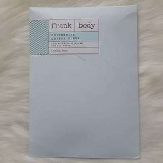 Frank Body Peppermint Coffee Scrup 200g