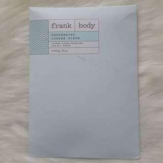 Frank Body Peppermint Coffee Scrup 200g