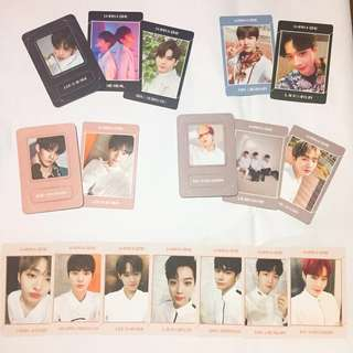 wtt/wts wanna one undivided albums official photocards & magnet