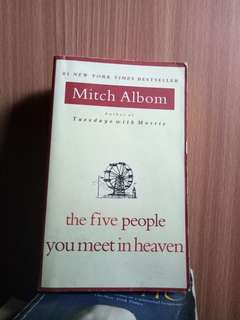 Mitch albom's books