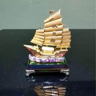 Feng Shui Sailing Ship 一帆风顺