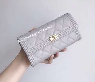 Chanel Caviar Le Boy Wallet