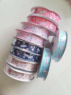 """Handmade"" Ribbons"
