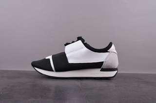 巴黎世家Balenciaga Race Runner low-top sneakers休閑跑鞋
