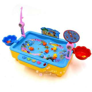 🚚 [BN] 🎣 Happy Fishing : Novelty Kids Game Magnets Fishing