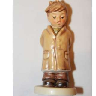 "Goebel Hummel Figurine ""Too Shy to Sing"" #845 TMK 8"