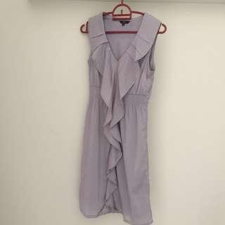 Formal grey dress