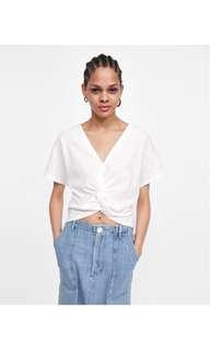 Zara Crop Top in White