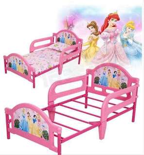 Princess Kids Bed Frame with Foam