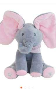 Boneka Gajah Bernyanyi singing elephant