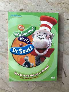 The cat in the hat DVD