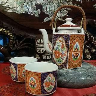 Chinese /Japanese Vintage Teapot Set