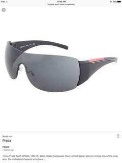 Authentic Prada sport sunglasses