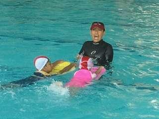 Swimming Lesson @ Watertown Condo