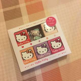 [含運]Hello Kitty 香水 夢幻組(小香5ml*5入+公仔乙支)
