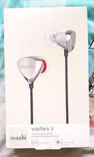 Moshi vortex 2 noise isolating earphones