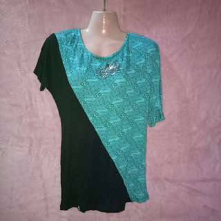 Tribal Mint Shirt