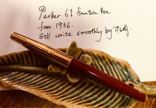 1956 Parker 61 fountain pen