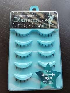 Diamond lash bottom eyelashes (5pairs)