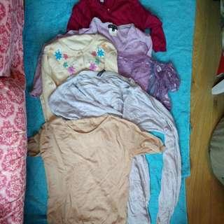 6pcs - bundle sale knit cardigans - fits XS - S