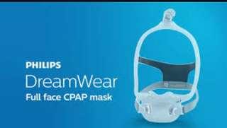 Philips DreamWear Full face CPAP mask