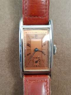 Rare 1940's Vintage Watch Unbranded Manual Winding Mechanical