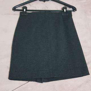 Work mini skirt