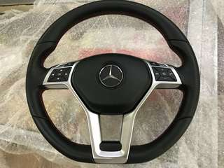 Mercedes AMG bottom flat Steering W204 W212 W207...