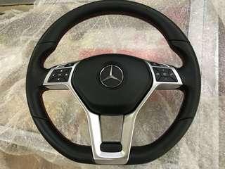 Mercedes AMG bottom flat Steering W204 W212 W207...