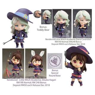 Nendoroid Little Witch Academia Diana Cavendish &  Atsuko Kagari