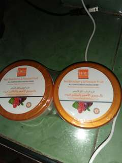 Red bearberry &passion fruit moisturizing cream