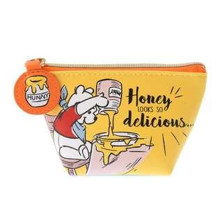 日本 Disney Store 直送 Winnie the Pooh 小熊維尼散紙包 / 銀包仔 - Fun & Scared 款