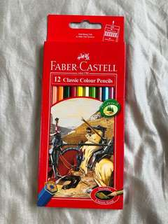 Mark down $ - Faber Castell Colour Pencils