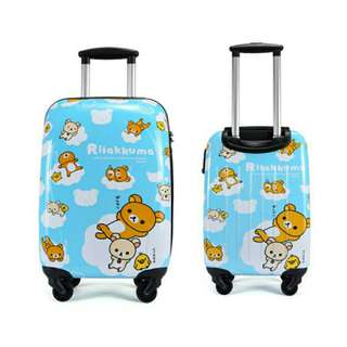 """*FREE DELIVERY to WM only / Ready stock* 20"""" Rilakkuma design luggage each as shown in design/color. Free delivery is applied for this item."""