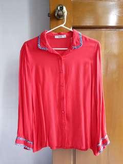 Sakaya Red Long Sleeves (XL)