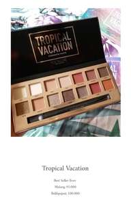 Focallure Tropical Eyeshadow Ready tanpa PO