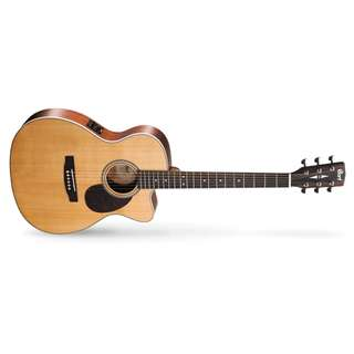 CORT L100-OC ACOUSTIC GUITAR SOLID TOP WITH EQ AND CASE