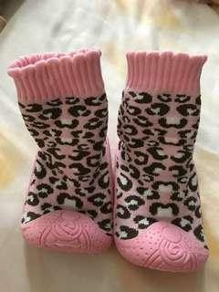 Baby shoe sock