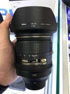 Nikon 24-120mm F4 AFS VR LENS