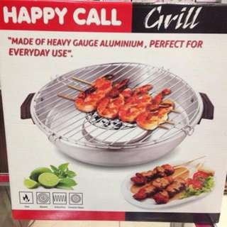 Happy Call Magic Grill Roaster Alat Panggang Praktis Tanpa Arang Bahan Anti Lengket