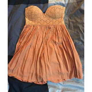 Angel Biba Bustier babydoll dress