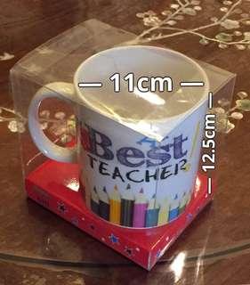 """Big Mug """"Best Teacher"""" brand new"""