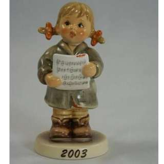 "Goebel Hummel Figurine ""First Solo"" #2182 TMK 8"