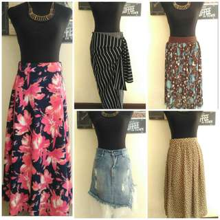 Skirts Collection tonight at 7pm!