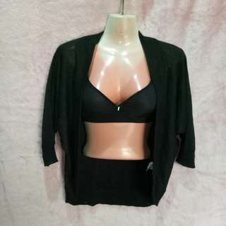 Black Shrug Jacket