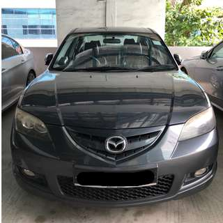 Reliable Mazda 3 For Rent