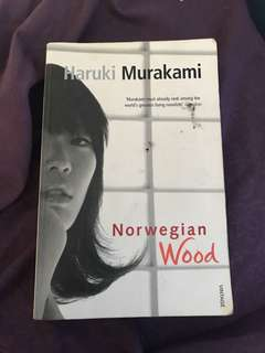🚚 Haruki Murakami Norwegian Wood